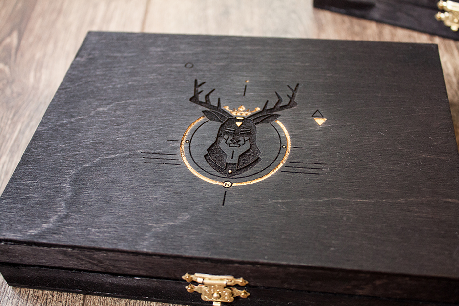 Deluxe Wooden box edition